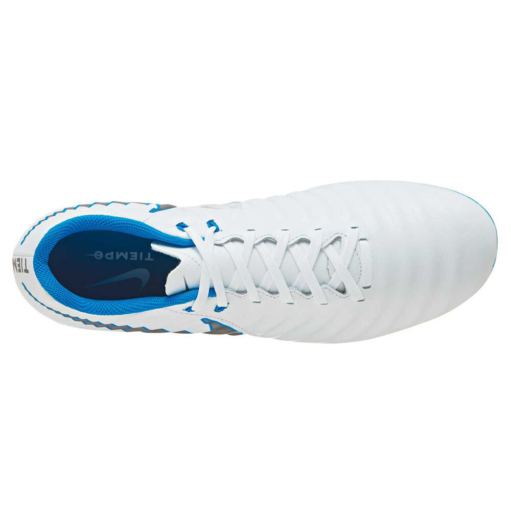 7b68bf4c1 Nike Tiempo Legend VII Academy Mens Football Boots White   Grey US 7 ...