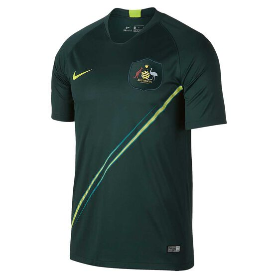 Socceroos 2018 Mens Away Football Jersey S  f9efc83ff