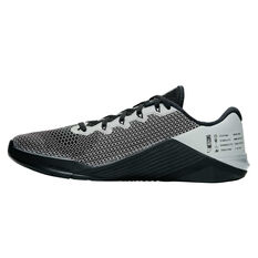 Nike Metcon 5 X Mens Training Shoes Black / Silver US 7, Black / Silver, rebel_hi-res