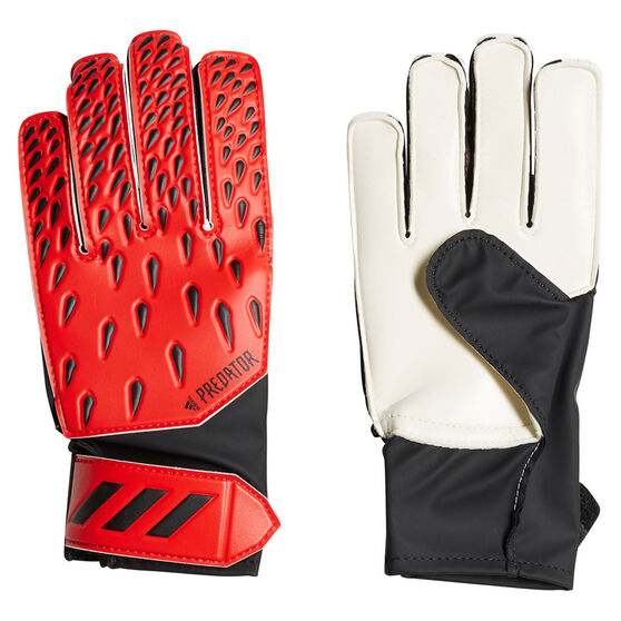 adidas Predator Training Junior Goalkeeping Gloves, Red, rebel_hi-res