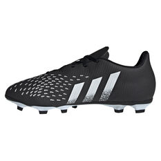 adidas Predator Freak .4 Football Boots Black US Mens 4 / Womens 5, Black, rebel_hi-res