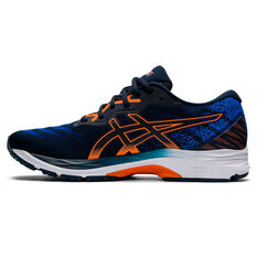Asics GEL Ziruss 4 Mens Running Shoes Blue US 7, Blue, rebel_hi-res