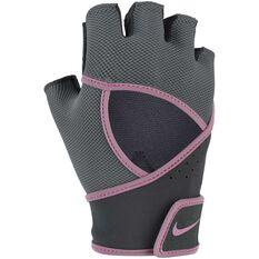Nike Womens Premium Gloves Black S, Black, rebel_hi-res