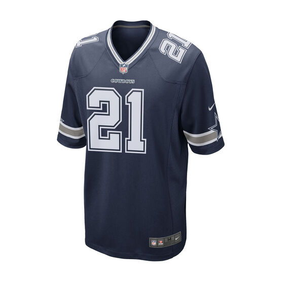 Dallas Cowboys Ezekiel Elliott Mens Jersey, Navy, rebel_hi-res