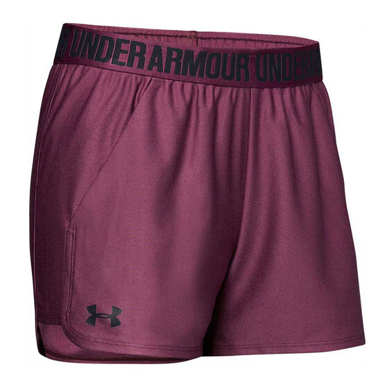 Under Armour Womens Play Up Shorts, , rebel_hi-res