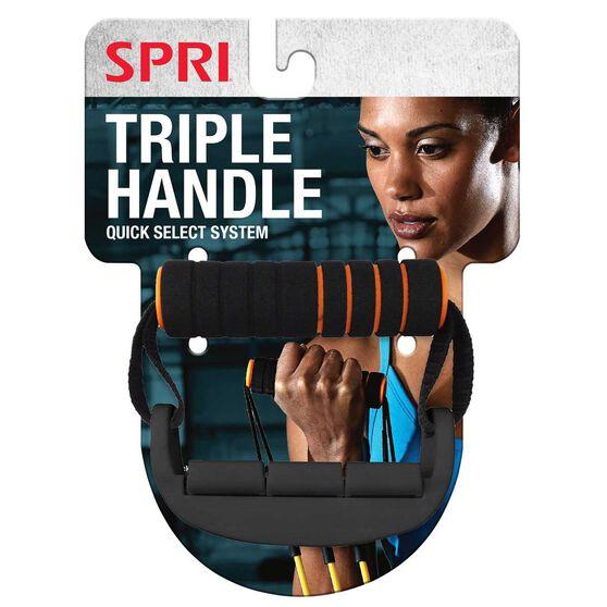 SPRI Triple Handle Black / Orange, , rebel_hi-res