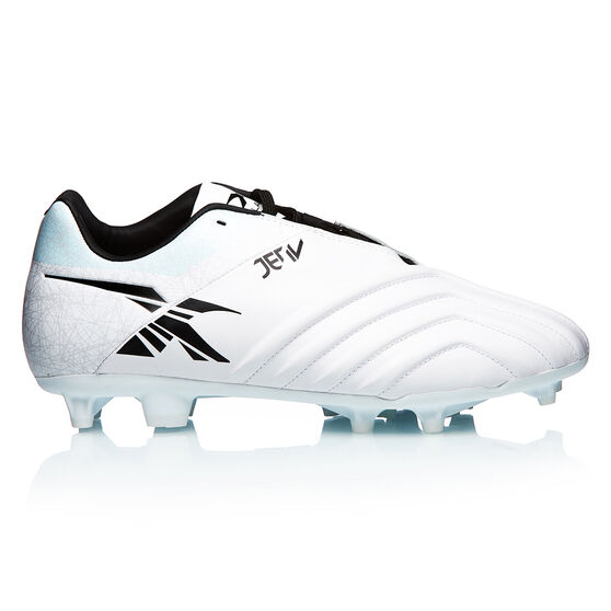 XBlades Jet 4 Football Boots, White/Silver, rebel_hi-res
