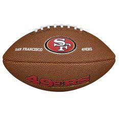 Wilson NFL Mini San Francisco 49ers Supporter Ball, , rebel_hi-res
