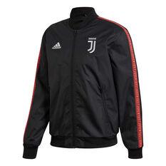 Juventus FC 2019/20 Mens Anthem Jacket Black S, Black, rebel_hi-res