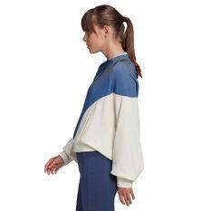 adidas Karlie Kloss Womens Cover Up Jacket White XS, White, rebel_hi-res