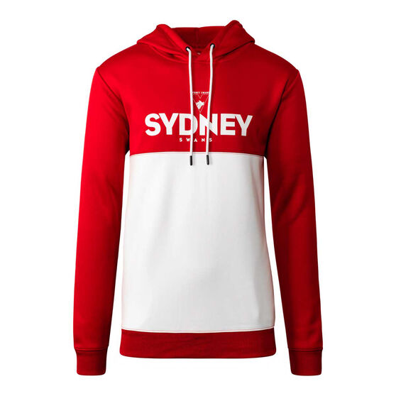 Sydney Swans 2020 Mens Ultra Hoodie, Red/White, rebel_hi-res