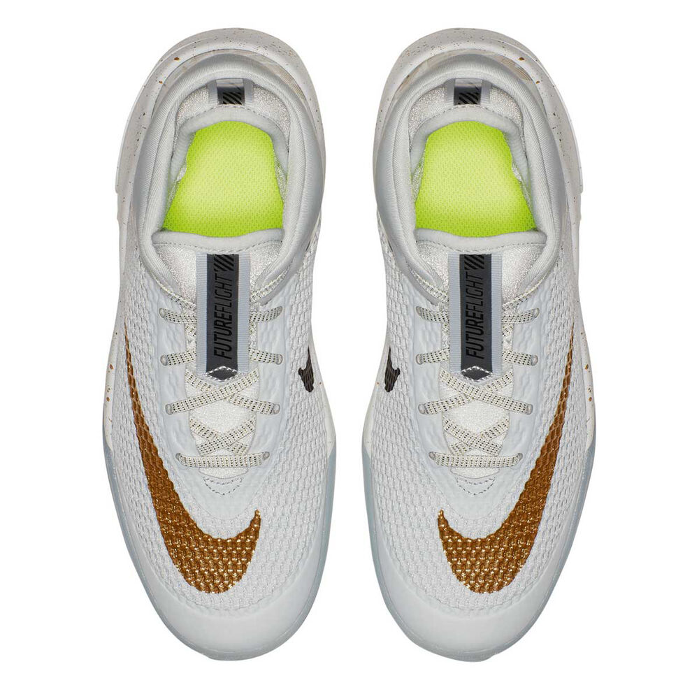 separation shoes 63b0d fc8f9 Nike Future Flight Kids Basketball Shoes, White   Gold, rebel hi-res