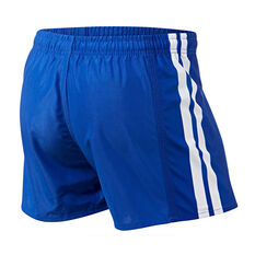 Canterbury-Bankstown Bulldogs Mens Home Supporter Shorts Blue S, Blue, rebel_hi-res