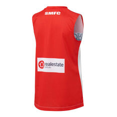 Sydney Swans 2021 Womens Home Guernsey, Red/White, rebel_hi-res