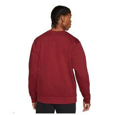 Liverpool FC 2021/22 Mens Sportswear Club Sweatshirt Red S, Red, rebel_hi-res