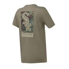 Chicago White Sox Mens Pattison Tee Grey S, Grey, rebel_hi-res