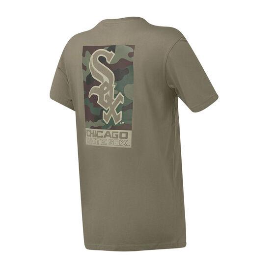 Chicago White Sox Mens Pattison Tee, Grey, rebel_hi-res