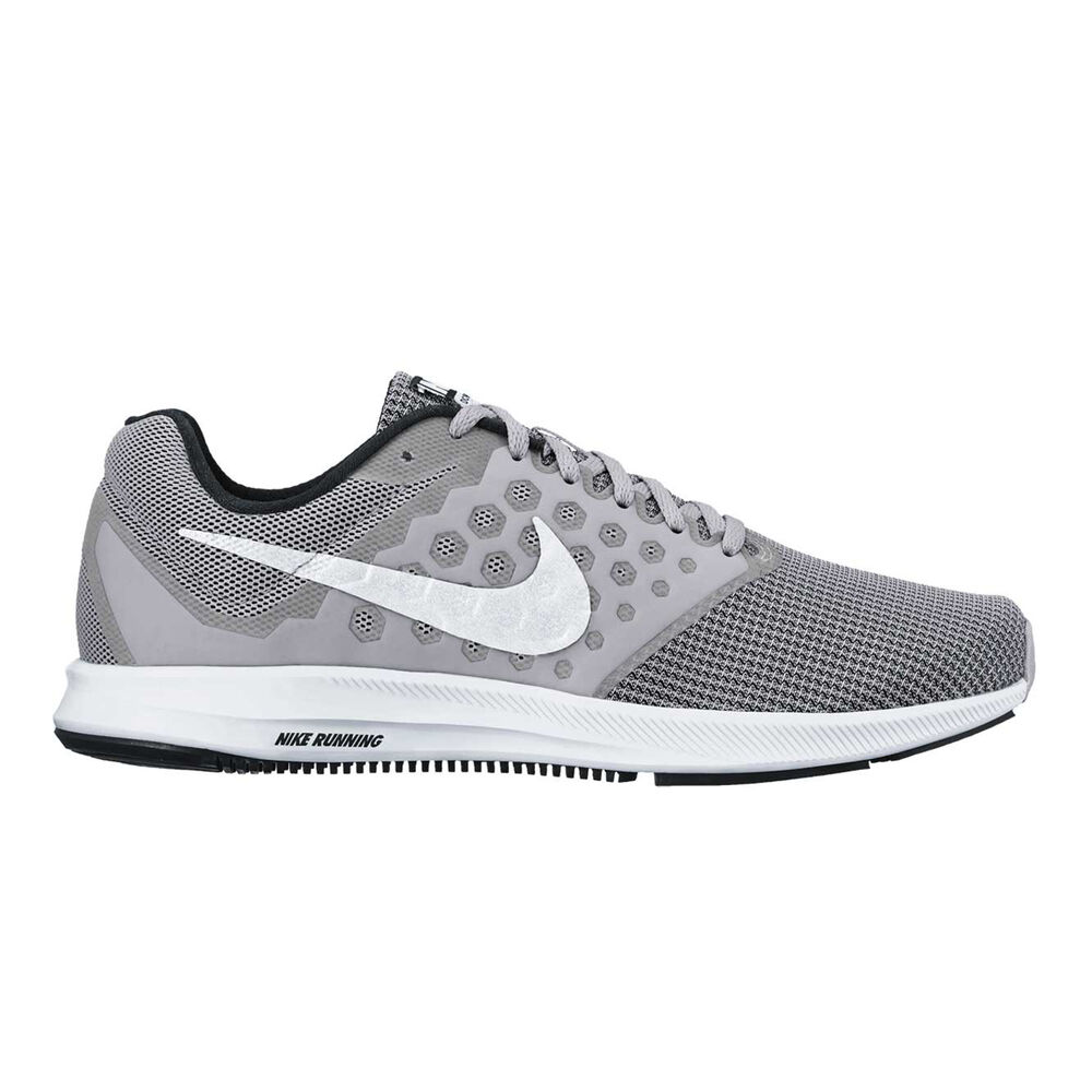 9a5daf0a6df5 Nike Downshifter 7 Mens Running Shoes Grey   White US 11.5