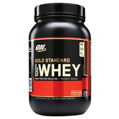 Optimim Nutrition Gold Standard Whey 2lb Double Chocolate Protein, , rebel_hi-res