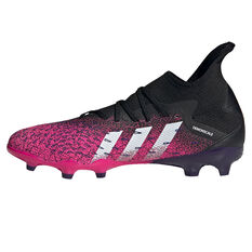 adidas Predator Freak .3 Football Boots Black US Mens 9 / Womens 10, Black, rebel_hi-res
