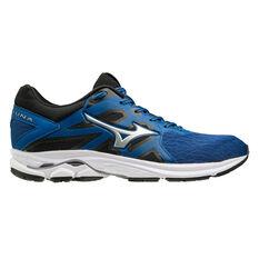 Mizuno Wave Kizuna Mens Running Shoes Blue/Silver US 8, , rebel_hi-res