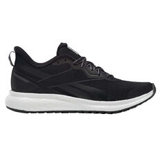 Reebok Forever Floatride Womens Running Shoes Black/White US 6, Black/White, rebel_hi-res