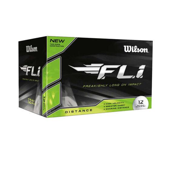 Wilson FLi 12 Pack Golf Balls, , rebel_hi-res