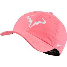 Nike Mens Aerobill Rafa Heritage 86 Cap Pink OSFA, Pink, rebel_hi-res