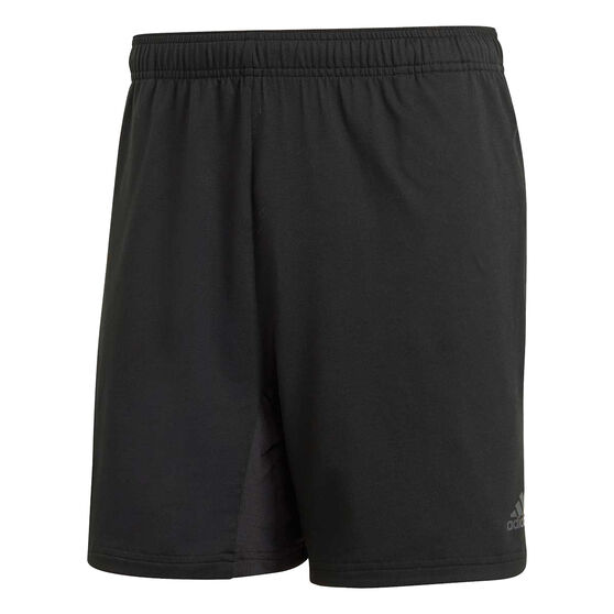 adidas Mens 4KRFT Climacool Training Shorts, Black, rebel_hi-res