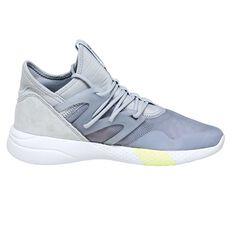 Reebok Hayasu Womens Casual Shoes Grey / Silver US 6, Grey / Silver, rebel_hi-res