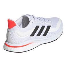 adidas Supernova Womens Running Shoes, White/Black, rebel_hi-res