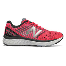 New Balance 860v9 Kids Running Shoes Pink / White US 4, Pink / White, rebel_hi-res