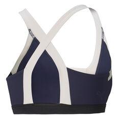 Puma Womens Forever Luxe Sports Bra, Blue, rebel_hi-res