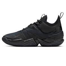 Nike Jordan Westbrook One Take Kids Basketball Shoes Black US 4, Black, rebel_hi-res