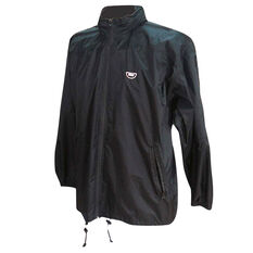 Team Stolite Explorer Wet Weather Jacket Black M, Black, rebel_hi-res