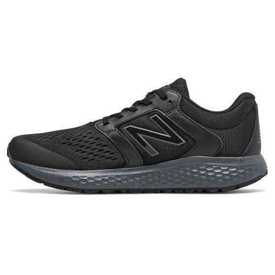 New Balance 520v6 Mens Running Shoes, Black/White, rebel_hi-res