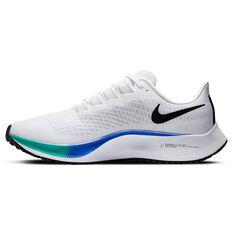 Nike Air Zoom Pegasus 37 Mens Running Shoes, White, rebel_hi-res