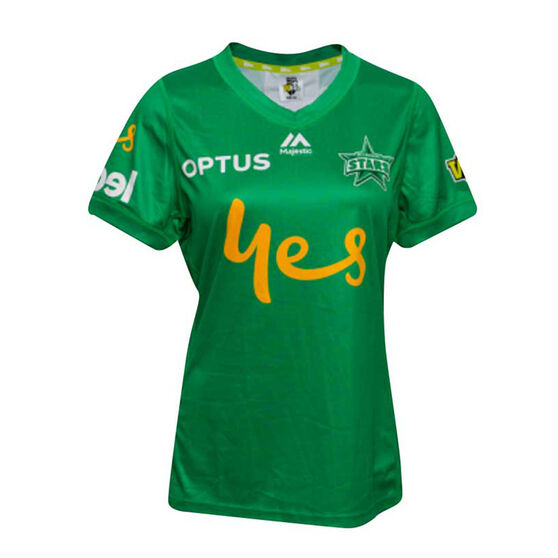 Melbourne Stars 2019/20 Womens WBBL Onfield Jersey, Green, rebel_hi-res