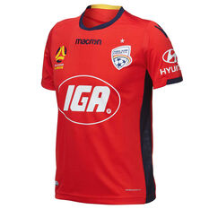 Adelaide United 2018 / 19 Mens Home Jersey Red S, Red, rebel_hi-res