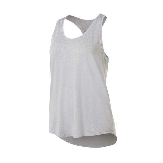 Ell & Voo Womens Sammie Workout Tank Grey XL, Grey, rebel_hi-res