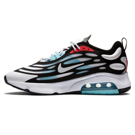 Nike Air Max Exosense Mens Casual Shoes, White/Red, rebel_hi-res