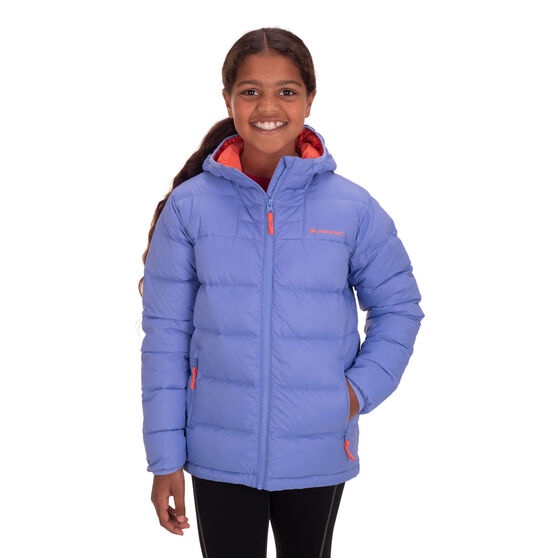 Macpac Kids Atom Hooded Jacket, Blue, rebel_hi-res