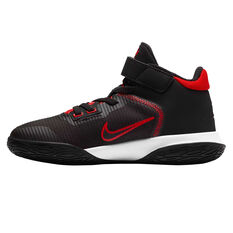 Nike Kyrie Flytrap 4 Kids Basketball Shoes Black US 1, Black, rebel_hi-res