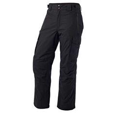 Tahwalhi Mens Stoke Ski Pants Black S, Black, rebel_hi-res