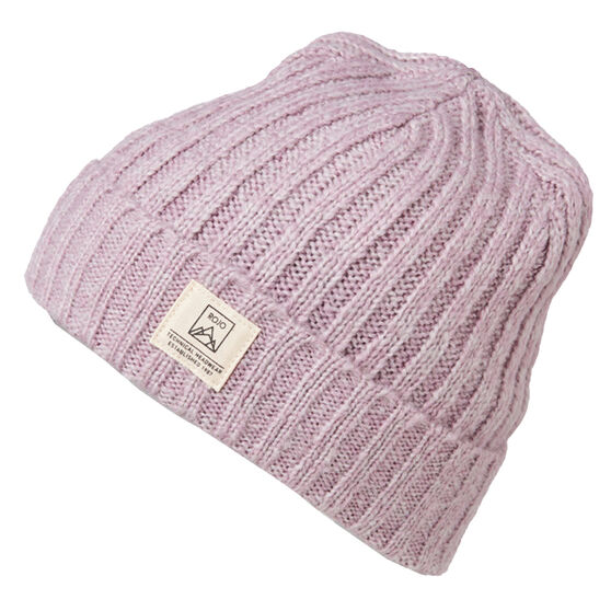 Rojo Womens Two Tone Roll Up Beanie, , rebel_hi-res
