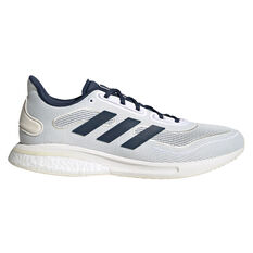 adidas Supernova Mens Running Shoes White/Navy US 7, White/Navy, rebel_hi-res