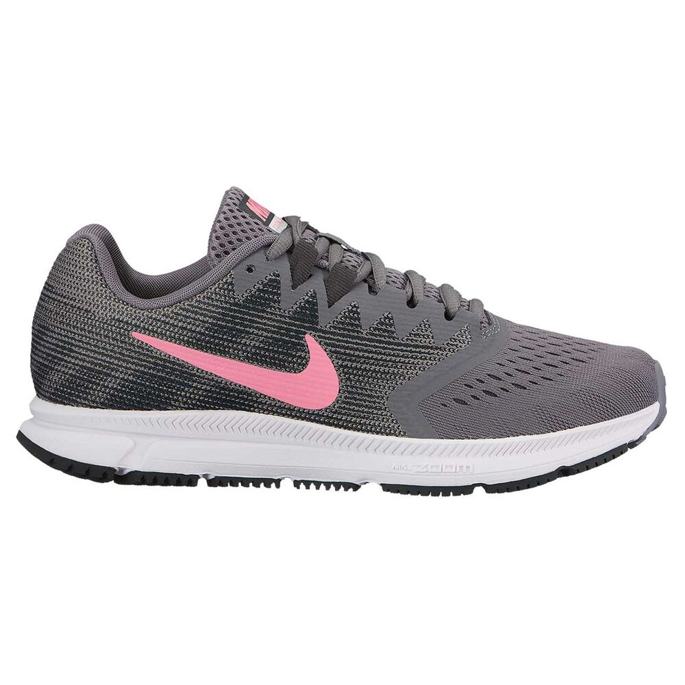 b456c07c873e Nike Zoom Span 2 Womens Running Shoes Grey   Pink US 9