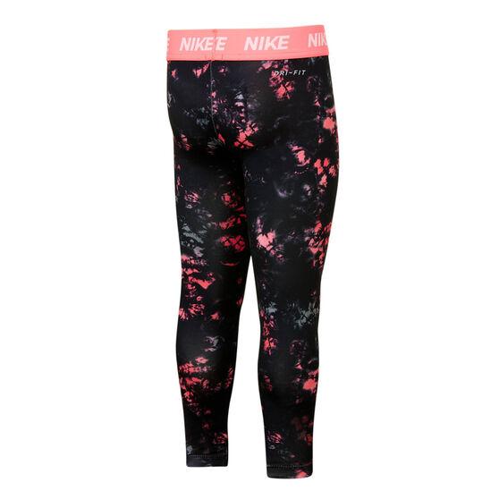 Nike Girls Just Do It Sublimated Leggings, Print, rebel_hi-res