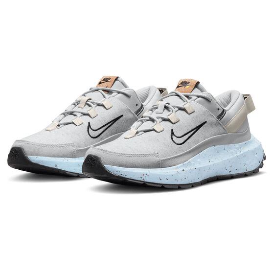 Nike Crater Remixa Womens Casual Shoes, Grey/Black, rebel_hi-res