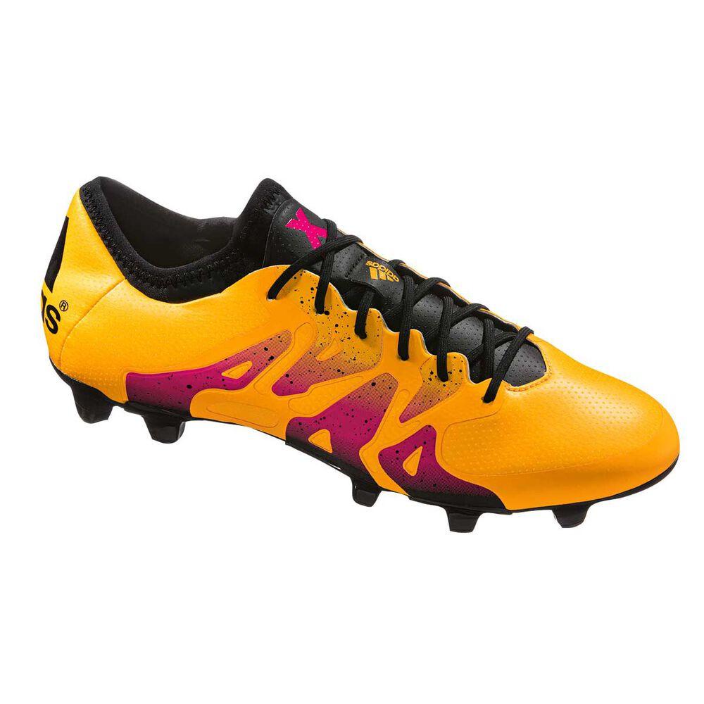 982269914 adidas X 15.1 FG   AG Mens Football Boots Gold US 8 Adult